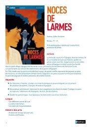 NOCES DE LARMES - Nathan