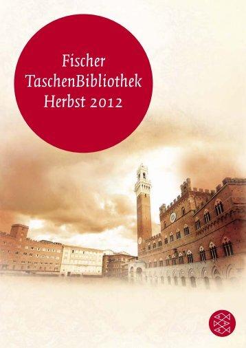 Fischer Taschenbibliothek Herbst 2012