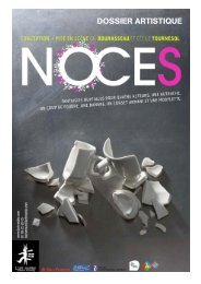 NOCES dossier artistique-V8 - site de Luc TARTAR