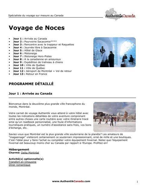 Carte Canada Avec Ville.Voyage De Noces Authentik Canada