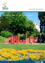Place de jeux et pique-nique - Nyon Région Tourisme