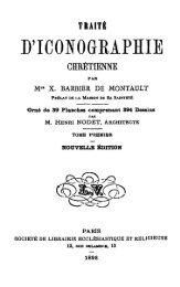 Traité d'iconographie chrétienne (tome 1) - Livres mystiques