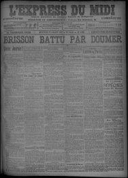 11 janvier 1905 - Bibliothèque de Toulouse