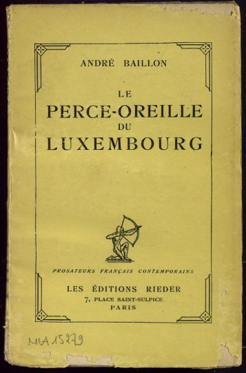 PERCE-OREILLE LUXEMBOURG