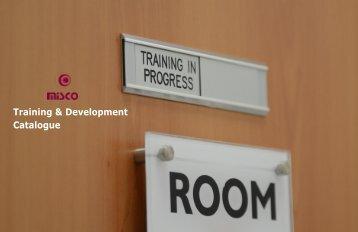 Training & Development Catalogue