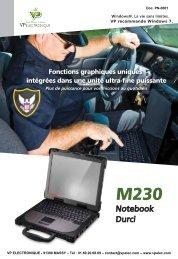 PC portable notebook durci tout terrain, écran 14.1