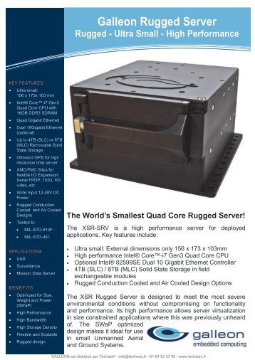 Galleon Rugged Server - Techway