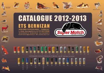Télécharger Catalogue 2013 - 2014 - Bernizan