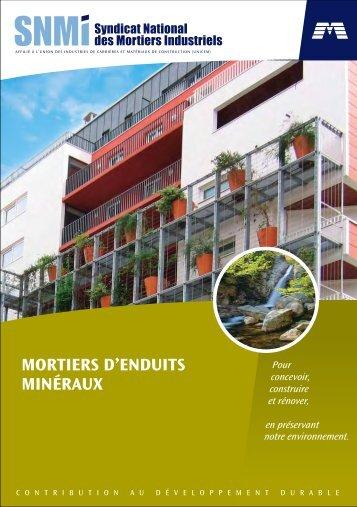 MORTIERS D'ENDUITS MINÉRAUX - Weber