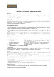 Fluoxetina Pharmagenus 20 mg cápsulas duras - Uriach