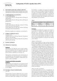 Gabapentina STADA cápsulas duras EFG - Inicio
