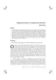 Marguerite Duras ea escritura do feminino - PePSIC