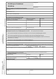 Anmeldung zur Hundesteuer Abmeldung - Amt Achterwehr
