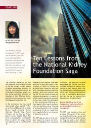 Ten Lessons from the National Kidney Foundation Saga - Singapore ...