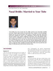 Nasal Bridle: Married to Your Tube - Medicine - University of Virginia