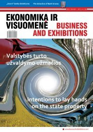 EKONOMIKA IR VISUOMENE - Business and Exhibitions