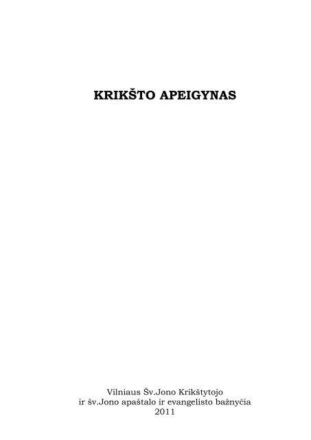 KRIKŠTO APEIGYNAS - Jonai.lt