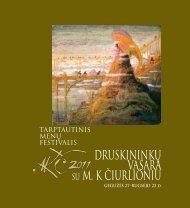 Druskininkų vasara su M.K.Čiurlioniu. Bukletas. 2011 m.pdf - Lmrf.lt