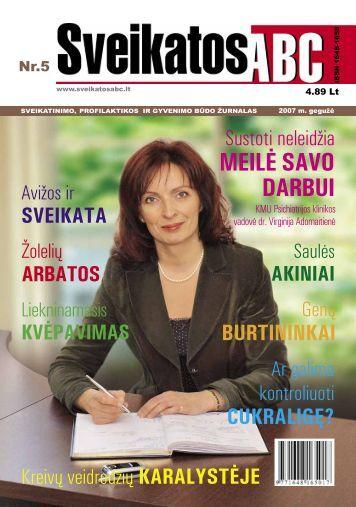 MEILĖ SAVO DARBUI - Sveikatos ABC