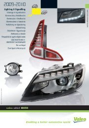 Bosch original limpiaparabrisas wischgummi Alfa Romeo 147 156 159 Brera 06-10