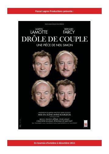 DRÔLE DE COUPLE - Pascal Legros Productions