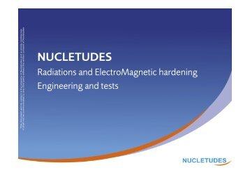 Download the presentation - Nucletudes