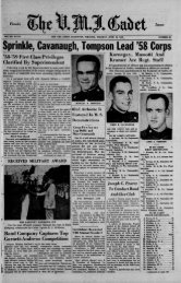 The Cadet. VMI Newspaper. June 10, 1958 - New Page 1 [www2 ...