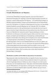 Virtuelle Öffentlichkeiten von Migranten - jannis androutsopoulos