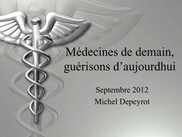 Télécharger l'exposé du livre en Pdf - Michel Depeyrot