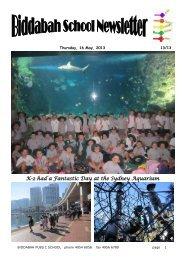 Newsletter Term 2 Week 3 - Biddabah Public School