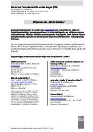 Liste vom Deutschen Zentralinstitut für soziale ... - Antenne Düsseldorf
