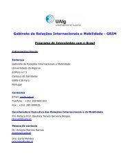 Gabinete de Relações Internacionais e Mobilidade - UFSM