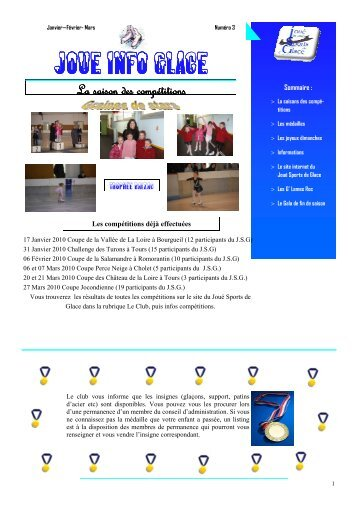 numero 3 - Joué Sports De Glace