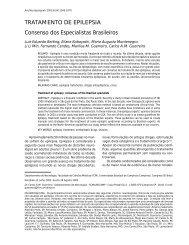 TRATAMENTO DE EPILEPSIA Consenso dos ... - ResearchGate