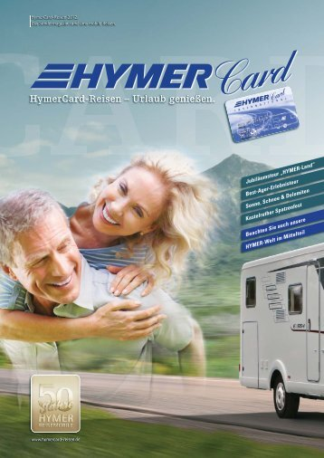 HymerCard-Reisen – Urlaub genießen.