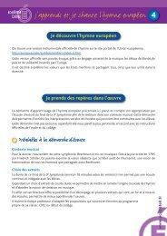 J'apprends et je chante l'hymne européen - Académie de Créteil