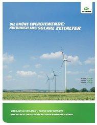 Das Energiewende-Programm - Die Grünen