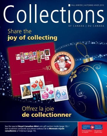 Share the joy of collecting offrez la joie de collectionner - Canada Post
