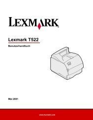 Lexmark T522