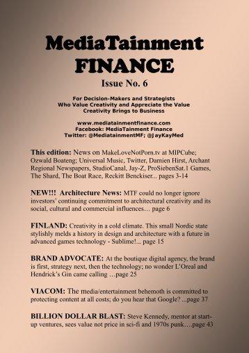 MediaTainment FINANCE - JayKay Media Inc