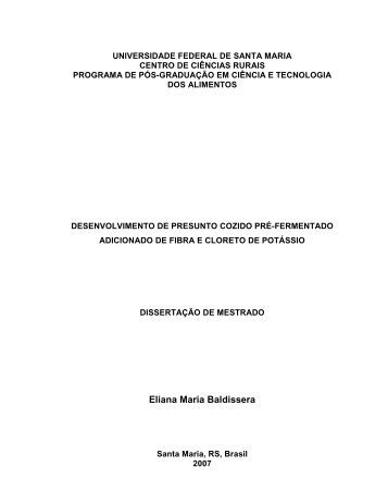 Eliana Maria Baldissera - UFSM