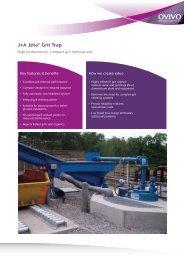 J+A Jeta® Grit Trap - Ovivo
