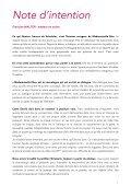 Dossier de Presse - Atelier Premier Acte - Page 4