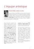 Dossier de Presse - Atelier Premier Acte - Page 6
