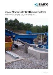 Jones+Attwood Jeta® Grit Removal Systems