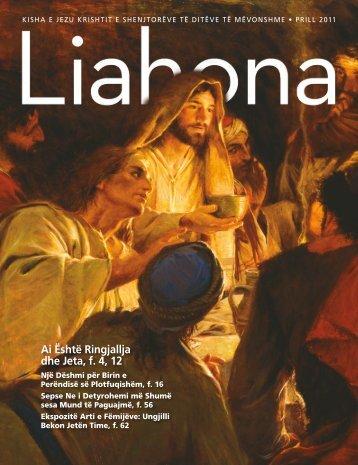 Ai Është Ringjallja dhe Jeta, f. 4, 12 - The Church of Jesus Christ of ...