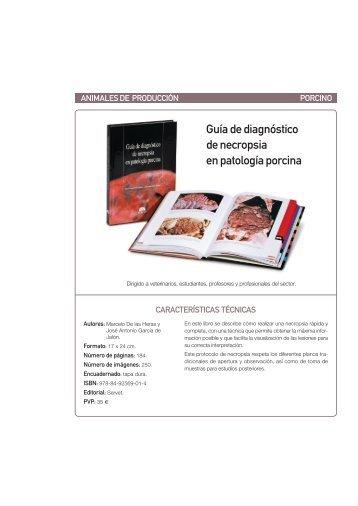 Guía de diagnóstico de necropsia en patología porcina