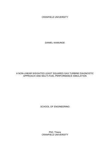 Cranfield university phd thesis