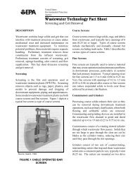 Screening and Grit Removal - Water - US Environmental Protection ...