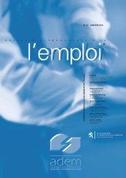 Bulletin luxembourgeois de l'emploi - n°01 - janvier 2013